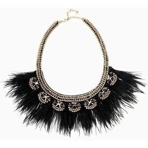 Stella & Dot Jewelry - Stella & Dot Harper Feather Necklace
